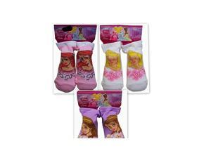 Disney 00255 Princess Baby Booties 18-24 Months 2 Asstd