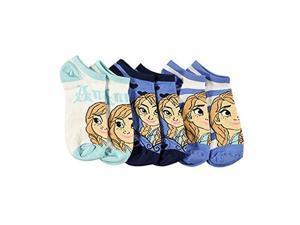 Disney Frozen Socks Size 4-6 Anna Stripe 3-Pack