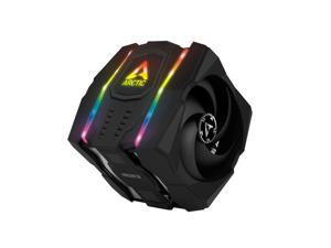 Arctic ACFRE00065A Freezer 50 - Multi Compatible Dual Tower CPU Cooler with A-RGB CPU Cooler for AMD
