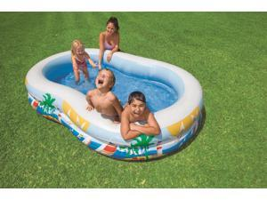 Intex Recreation Swim Center Paradise Lagoon Pool, Age 3+