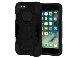 iPhone 7 Case Hybrid Impact Resistant Dual Layer Soft Cover Hard Shell Kick Stand Case for Apple iPhone 7