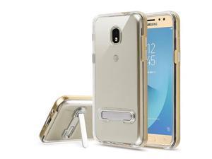 Samsung Galaxy J7 2018 Case, Ultra Protective Dual Layer Rugged Hard Back Soft TPU Anti