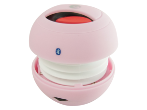 GrandMax SPKR-M5BT-PK Tweakers Mini POP Wireless Bluetooth Speaker, Pink