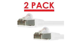 550MHz 5 Pack UTP Ethernet Network Patch Cable Snagless//Molded Bubble Boot GRANDMAX CAT6A 7 FT Green RJ45