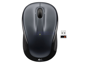 Logitech M325 910-002974 Black Tilt Wheel USB RF Wireless Optical Mouse