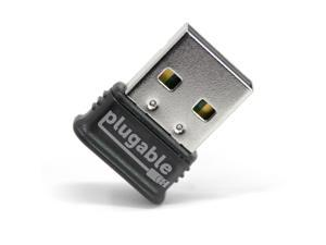 Plugable USB Bluetooth 4.0 Low Energy Micro Adapter (Compatible with Windows 11, 10, 8.x, 7, Classic Bluetooth, Gamepad, and Stereo Headset Compatible)