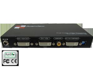 2 DVI Input Dual Image Video Processor