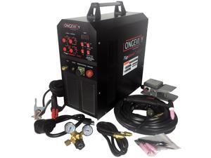 Longevity TIGWELD 200SX, 200 Amp 110V/220V AC/DC TIG/STICK Welder