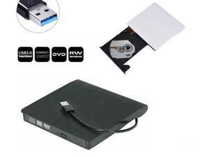 USB 3.0 DVD RW CD Writer Drive Burner Reader External Player For Laptop PC