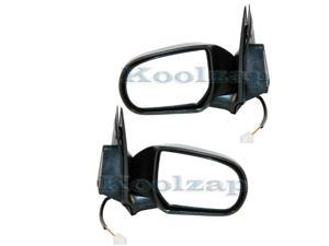 95-01 Chevy Lumina Manual Black Fixed Rear View Mirror Left Right Side SET PAIR