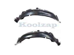 05-10 Chevy Cobalt Front Splash Shield Inner Fender Liner Left /& Right SET PAIR