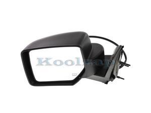 08-11 Focus Manual Remote Cable Black Non-Fold Rear View Mirror Left Driver Side
