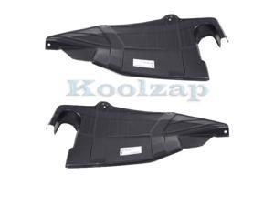 06-12 Fusion Front Engine Splash Shield Under Cover Left /& Right Side SET PAIR
