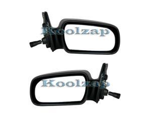 For 98-02 Corolla Prizm 4DR Power Non-Heat Rear View Mirror Left Right SET PAIR