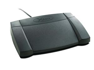 X-Keys XK-3 Front Hinge Programmable USB Foot Pedal