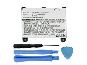 Replacement S11S01A, 170-1012-00 Battery for Amazon Kindle 2 D00511, Kindle 2 D00701 & Kindle DX D00801 (Graphite) eReaders