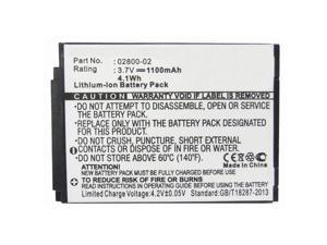 Replacement 1100mAh 02800-02, JNS150-BB42704544 Battery for Summer Infant Baby Touch 02000, 02004, Slim and Secure 02800, 02804, 02805, Best View 28030, 28034, 28035, SecureSight 02040, 02044 Monitors