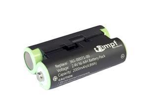 Replacement 2000mAh 010-11874-00, 361-00071-00 Battery for Garmin Oregon 600, 600t, 650, 650t Handheld GPS Units