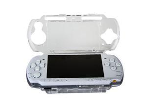 OSTENT Protector Clear Crystal Travel Carry Hard Cover Case Shell for Sony PSP 2000 3000
