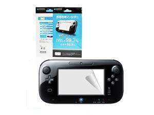 3x Ultra Clear Screen Protector LCD Film Guard Skin for Nintendo Wii U Gamepad