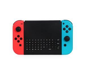OSTENT 2.4GHz Wireless Remote Controller Keyboard for Nintendo Switch Joy-Con Game