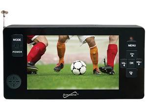 """Supersonic SC-143 Portable 4.3"""" LED TV with Micro SD, USB input and Remote"""