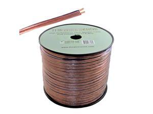 Clear 500ft 14 Gauge Speaker Wire Cable Dual Conductors CCA for Car / Home Audio
