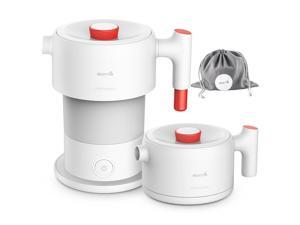 Xiaomi Deerma DEM-DH202 Electric Water Kettle Portable Foldable Automatic Power Off - White