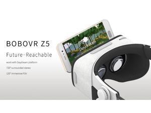 BOBOVR Z5 3D VR Headset with Daydream Gamepad FOV120 IPD Focus Adjustable