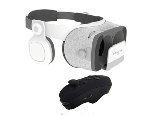 BOBOVR Z5 3D VR Headset without Daydream Gamepad FOV120 IPD Focus Adjustable with a free Virtoba V1 Portable Wireless Bluetooth Controller