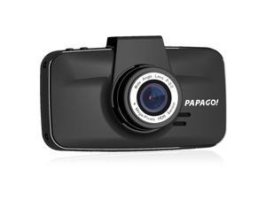 PAPAGO GoSafe 520 3.0'' LCD Screen Car DVR 1296P Dash Cam with 146 Degree Wide Angle Super Night Vision Parking Monitor - Black