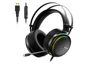 379c7e81cccd1c Tronsmart Glary Virtual 7.1 Stereo Sound Gaming Headset with Colorful LED  ...