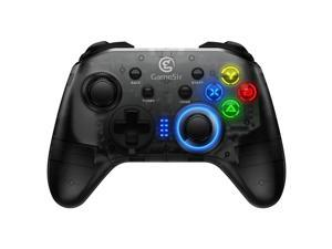 GameSir T4 2.4G Wireless/Wired Game Controller for Windows PC Switch PS3 Android TV No Phone holder -Black