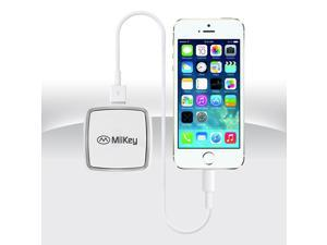 Miikey Miipower Mini 2200 mAH Capacity Power Bank  & Home ,Car Charger with Intelligent LED Power Display.