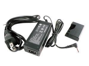 iTEKIRO AC Adapter Kit for Canon ACK-E10, 5112B001, 5113B002; Canon EOS 1100D 1200D 1300, EOS Kiss X50, EOS Rebel T3, EOS Rebel T5, EOS Rebel T6, EOS Rebel T7 (DR-E10 DC Coupler 5112B001 Included)