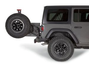 Warn 102255 Elite Rear Tire Carrier For 2018+ Jeep Wrangler JL