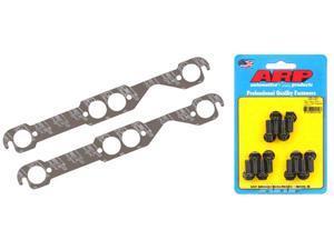 Mr Gasket 5907 Ultra Seal SB Chevy Header Gaskets & ARP 100-1201 Bolts