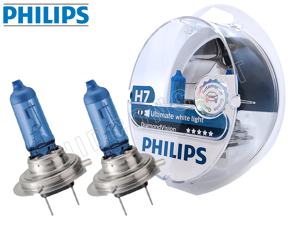 Philips H7 Diamond Vision 12972DVS2 Bulbs (PACK OF 2)
