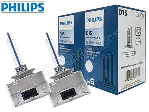 D1S - Philips HID White Vision 5000K 85415WHV2C1 Bulbs (Pack of 2)