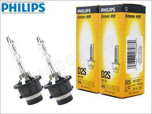 New! 2x PHILIPS 4300K OEM D2S HID BULBS MADE IN GERMANY #85122 35W DOT (Pack of 2)