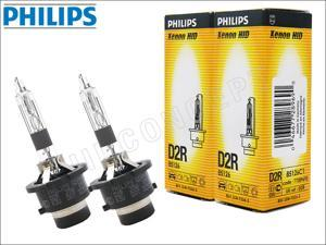 New! 2x PHILIPS 4300K OEM D2R HID BULBS MADE IN GERMANY #85126 35W DOT (Pack of 2)