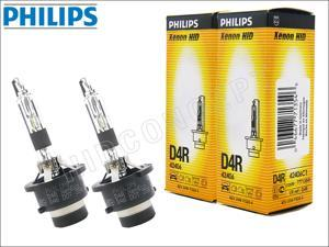 New! 2x PHILIPS 4300K OEM D4R HID BULBS MADE IN GERMANY #42406 35W DOT (Pack of 2)