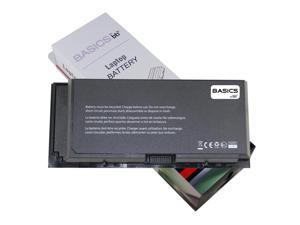 BASICS replacement Dell Precision M6800 Laptop Battery - High Quality BASICS by BTI 9 Cell Battery 7800mAh