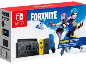 Nintendo Switch Fortnite Wildcat Bundle USA Spec
