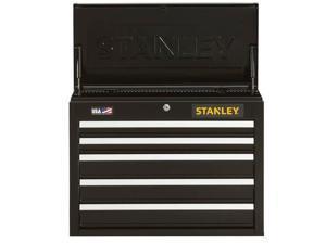 Stanley Black & Decker - STST22655BK - Stanley STST22655BK 26-Inch 300-Series 5-Drawe Storage Tool Chest - Black