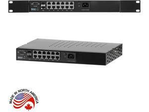 Netonix - WS-12-400-AC - Netonix 12-Port Managed PoE Switch AC + 2SFP Uplink Ports 400W
