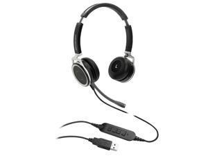 Grandstream - GUV3005 - Grandstream GUV3005 Headset - Stereo - USB Type A - Wired - 32 Ohm - 20 Hz - 20 kHz -