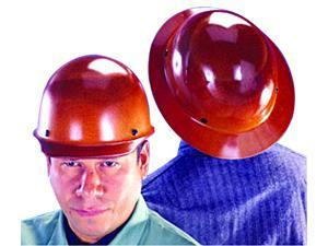 MSA Safety 475407 Skullgard Protective Hat Tan w/ Fas-Trac III Suspension