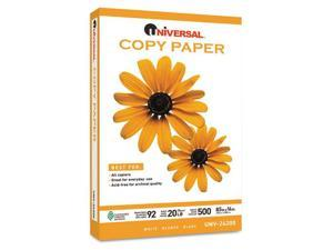 Universal Office Products - UNV24200 - Copy Paper, 92 Brightness, 20lb, 8-1/2 x 14, White, 5000 Sheets/Carton