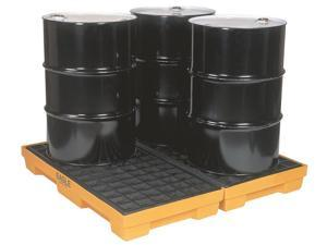4 Drum Modular Spill Containment Pallet